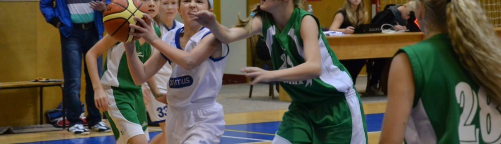 Jana Netušilová v zápase proti SBŠ Ostrava